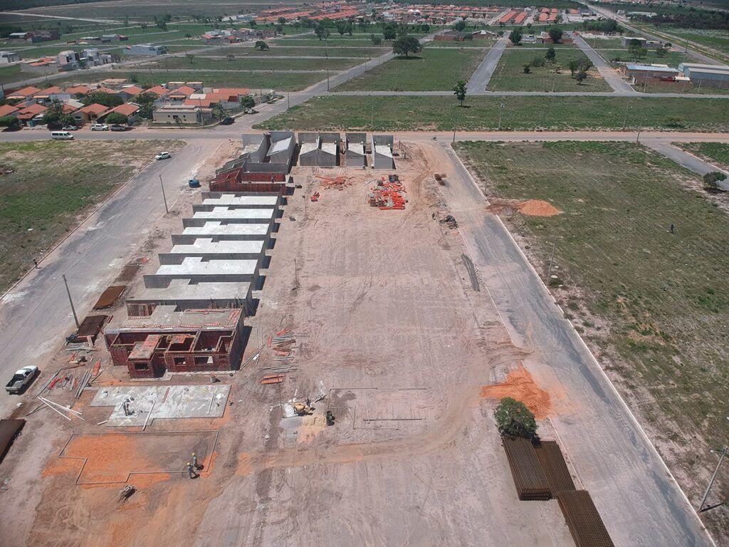 Andamento de Obra Alto dos Cerrados em Novembro de 2020 - BSB Construções em Luís Eduardo Magalhães